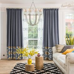 Blue Geometric Modern Room Darkening Curtains Blue Geometric Modern Room Darkening Curtains The post Blue Geometric Modern Room Darkening Curtains appeared first on Curtains Diy. Living Room Decor Curtains, Home Curtains, Room Darkening Curtains, Modern Curtains, Geometric Curtains, Living Room Modern, Living Room Interior, Living Room Designs, Living Room Furniture