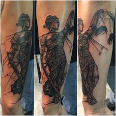 Metallica ...andjusticeforall Lady Liberty Tattoo
