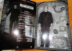 "2002 Sideshow Toys 12"" FRANKENSTEIN Silver Screen Boris Karloff Figure MIB"