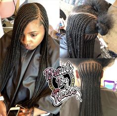 Black Girl Braids, Braids For Black Hair, Girls Braids, Black Girls Hairstyles, Summer Hairstyles, African Braids Hairstyles, Braided Hairstyles, Natural Hair Styles, Short Hair Styles