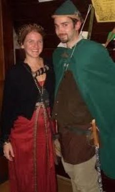 Robin Hood and Maid Marian Couples Costumes