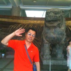 서안 섬서성 박물관의 대형 사자와 황하강