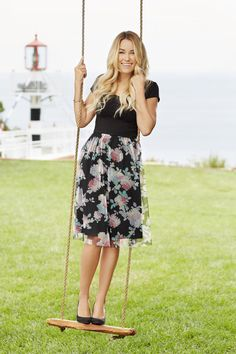 LC Lauren Conrad Black Floral Tulle Dress $10.88 @ Kohl's
