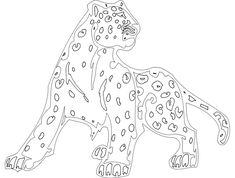 Animal Mascot Cheetah Free DXF File for Free Download | Vectors Art Animal Puzzle, Vector Free Download, Cheetah, Vector Art, Vectors, Animals, Free Vector Downloads, Animales, Animaux