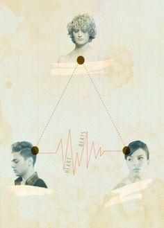 Xavier Dola, Niels Schneider, Monia Chokri — Les Amours Imaginaires