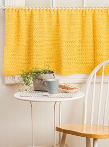 Sunny Day Curtain was made with Sinfonia
