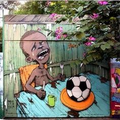 'We're hungry but there aren't enough balls' by Paulo Ito #WorldCup2014 #Brasil | pic.twitter.com/F9wAvPLIYd