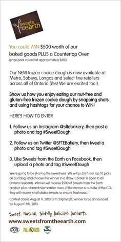 What would you do with $500 worth of our #vegan baked goods? Here's how to win that and more --> http://ow.ly/mNTjg #SweetDough