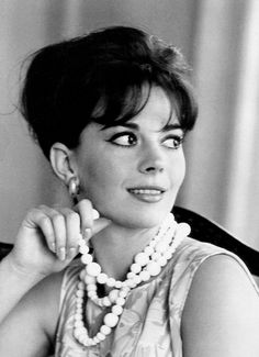 Natalie Wood at the Carlton Hotel in Cannes photographed by Edward Quinn, 1962