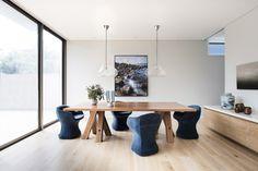 Modern house, dining room design