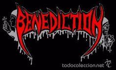 Parche bordado del grupo BENEDICTION - Termoadhesivo