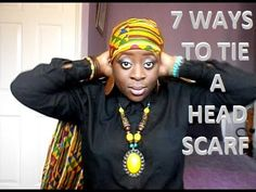 7 Ways to Tie a Head Scarf (for 7 days in a Week!)