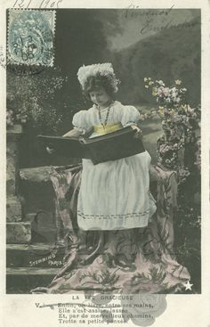 French postcards online