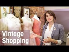 How to Decide What's Ordinary and What's Luxury When  Shopping Vintage - Vintage Bowles - YouTube