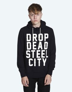 Drop Dead City Pullover Hoodie - £60  www.dropdead.co