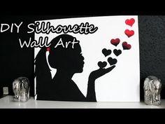 ▶ DIY Silhouette Wall Art - YouTube