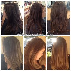 Stunning cut and color by the Karma Krew at Karma Salon & Spa!