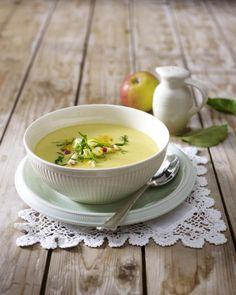 Unser beliebtes Rezept für Apfel-Curry-Suppe und mehr als 55.000 weitere kostenlose Rezepte auf LECKER.de.