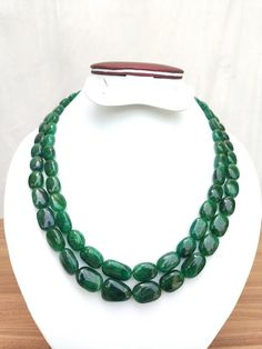 Green Necklace, Turquoise Necklace, Beaded Necklace, Indian Jewelry, Emerald, Gifts For Her, My Etsy Shop, Gemstones, Amazing
