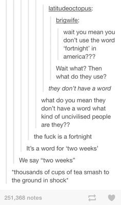 When this discovery left Brits clutching their pearls. Funny Tumblr America, Funny Tumblr Posts, Britain Vs America Tumblr, America Memes Funny, Britain Funny, Stupid Funny Memes, Haha Funny, Funny Quotes, Funny Stuff