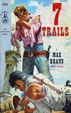 7 TRAILS by Max Brand - Pocket Book