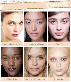 TBD NYFW Spring 2013 Barely There Eye Makeup!