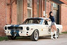 1965 Shelby- Lucky Devil Pin Ups