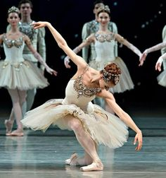Ekaterina Kondaurova in Diamonds from George Balanchine's Jewels  Photos by Gene Schiavone