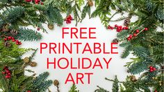 To get you ready for Christmas, I will be posting lots of free printables. Today I will be sharing six traditional style holiday and Christmas wall art printables. These signs are sized 8x10, but I'm also going to show you how to blow them up so that you can get them printed in larger sizes....