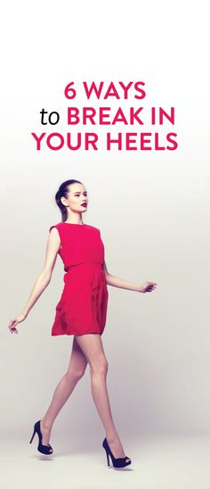 How to break in your heels #shoes