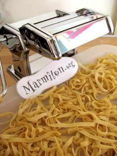 Pâtes fraîches - Recette de cuisine Marmiton : une recette