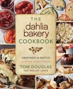 Baking Books: The Dahlia Bakery Cookbook  + 'The Nora Ephron' Peanut Butter Cookie Recipe - Squid Ink