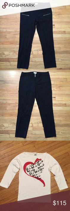 Bundle for Bundle for . 2 Helmut Lang pants, Diane von Furstenberg pants, Diane von Furstenberg shirt. Pants