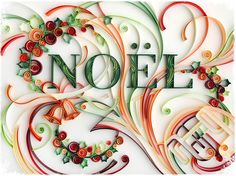 Beautiful quilling design. I wish I had the patience and skill to make something like this...