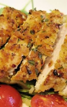 Crispy Lemon & Herb Chicken. This sounds nice. Please check out my website thanks. www.photopix.co.nz