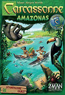 Carcassonne Amazonas Board Game