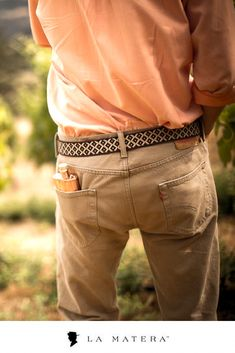 7ea935f21cca The Diplomatico Belt brings rugged gaucho style to everyday outfits
