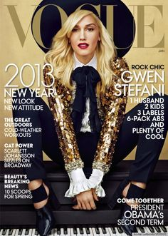 Best Vogue Cover of the Year So Far goes to... Gwen Stefani!!