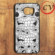 Skeleton Flower Sun Art Samsung Galaxy S7 Edge Case