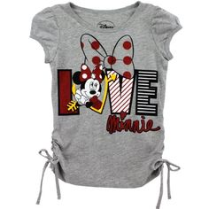 Disney Minnie Mouse Girls Grey T Shirt 4 5 6 Cute Outfits For Kids, Toddler Girl Outfits, Baby Girl Dresses, Boy Outfits, Baby Girl Onsies, Baby Shirts, Tee Shirts, Disney Shirts For Family, Shirts For Teens