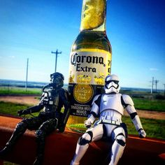 Happy May the 4th #starwars #maytheforcebewithyou #maythe4thbewithyou #corona #beer #stormtrooper #tiefighter #tiefighterpilot #thedarkside #empire #rebelscum #starwarsdaily #starwarsporn #starwarsshit #jedi #deathstar #northdakota #blueskies #summertime #livingeasy #darksidetilidie by 8pate
