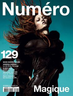 Numéro Dec 2011/Jan 2012 : Karlie Kloss : Greg Kadel