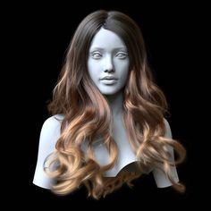 Ornatrix Maya: Hair Guides Sculpting Time-Lapse, 3dsmax, maya, ephere, graphics, softwares