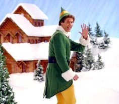 "Will Farrell as ""Buddy the Elf"" equals hilarious!! We have this comedic costume and wig, all you need is a pocket full of jokes from the movie and you're a hit at your next Christmas party!"