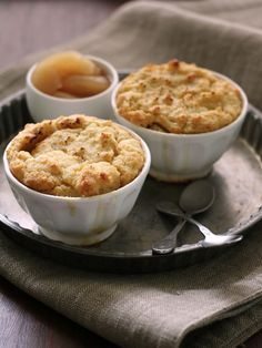 Cobbler aux pommes : Recette de Cobbler aux pommes - Marmiton