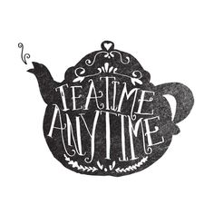 Tea time any time