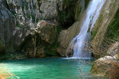Polilimnio, hidden paradise in Messinia, Peloponnese Enchanted River, Kai, Our World, Greece Travel, Paradise, Earth, In This Moment, Country, Gallery