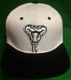 Arizona Diamondbacks Adjustable Snapback Cap by CoryCranksOutHats on Etsy