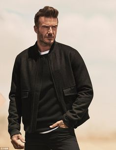 It's the second time the superstar and comic have teamed up for H&M. In the last advert, Kevin prepared to play the role of David in a biopic film. Beckham modelling the latest collection