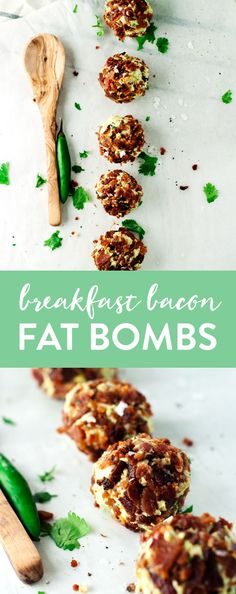 If you follow a keto or paleo diet, or just enjoy a good dose of good fats in the morning, then these Breakfast Bacon Fat Bombs are for you! Delicious! | asimplepantry.com